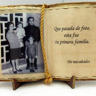 Libros resina personalizados, placas conmemorativas grabadas