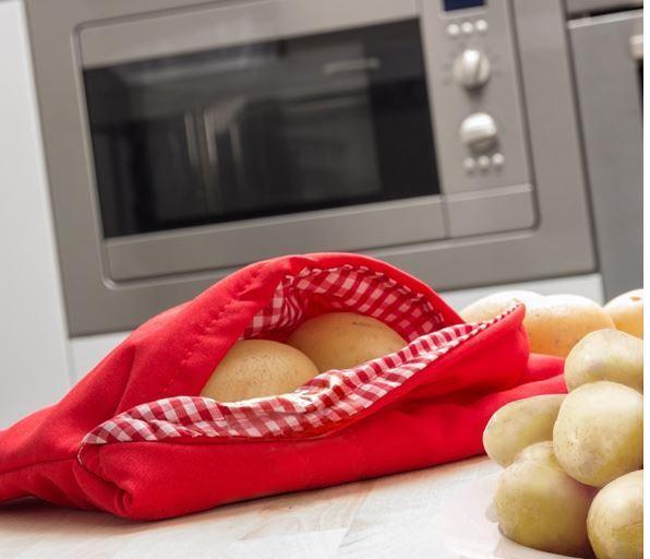 Bolsa para cocinar patatas en microondas for Cocinar en microondas