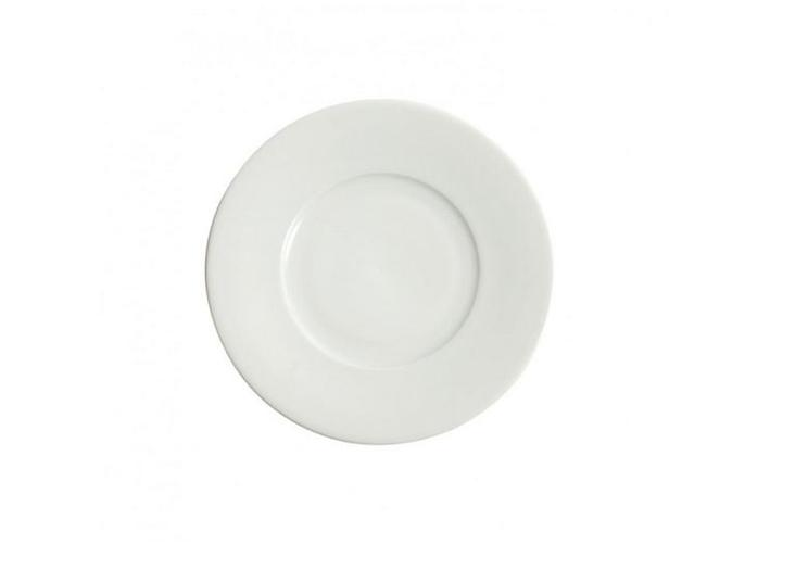 Plato pan 16cm relieve porcelana blanca for Platos porcelana blanca