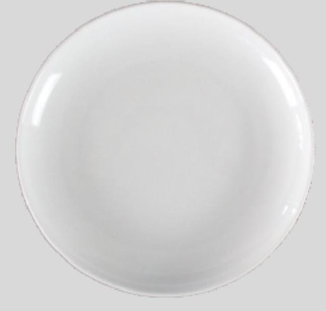 Plato porcelana blanca 20 5cm for Platos porcelana blanca
